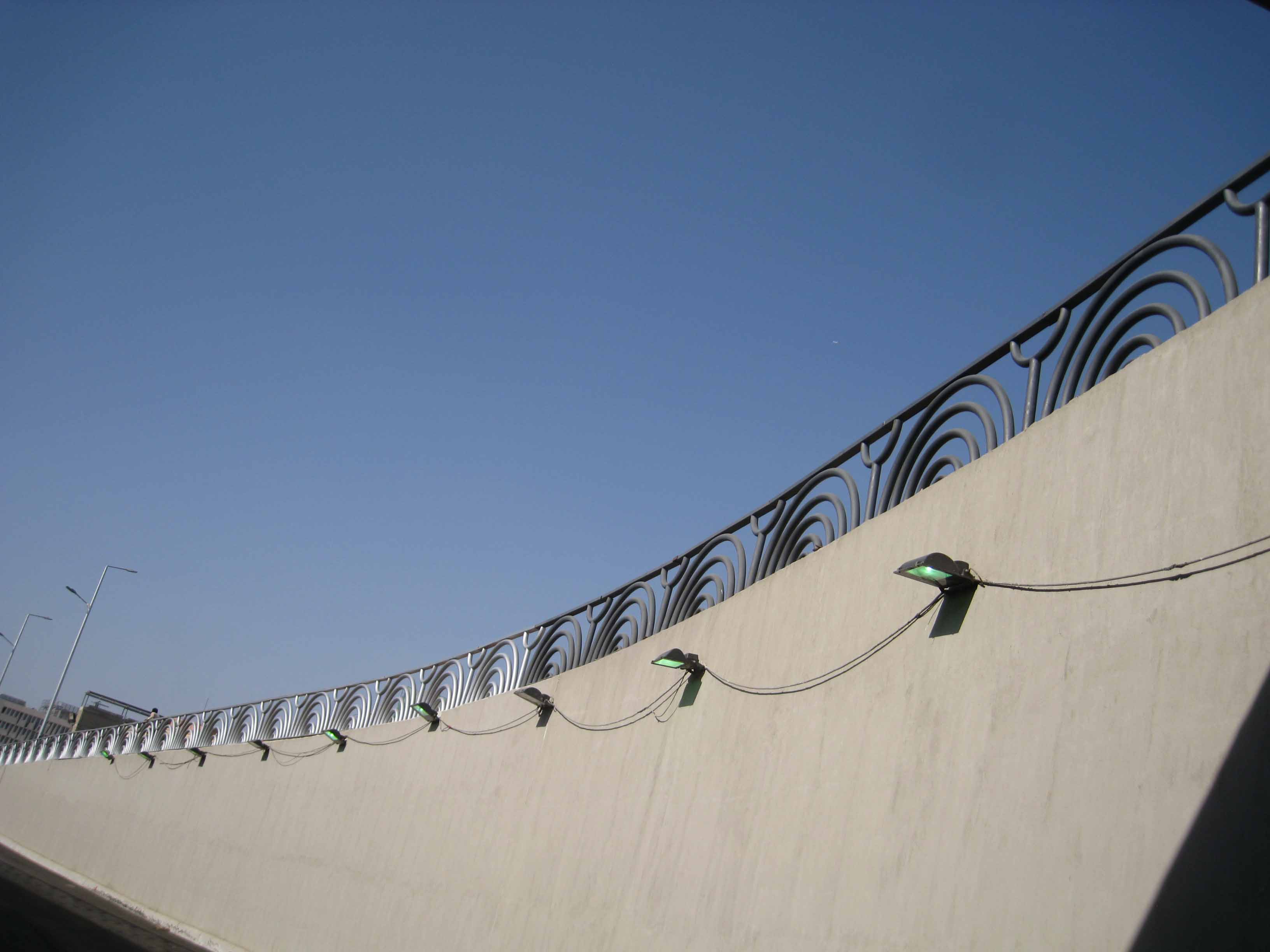 Handrail of Downtown tunnel project (21)