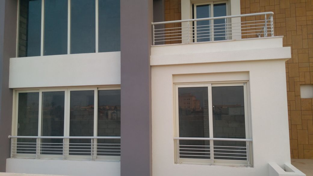 Steel Handrail at Oriana Project (4)