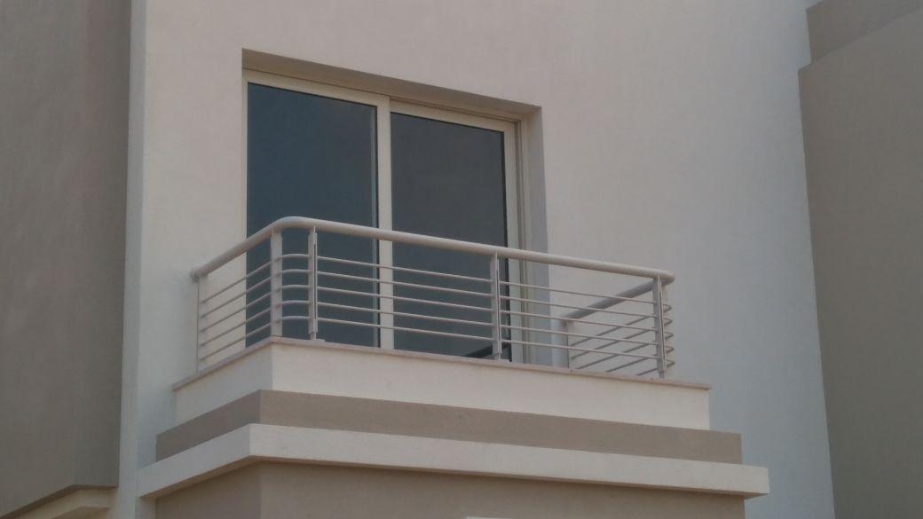 Steel Handrail at Oriana Project (7)