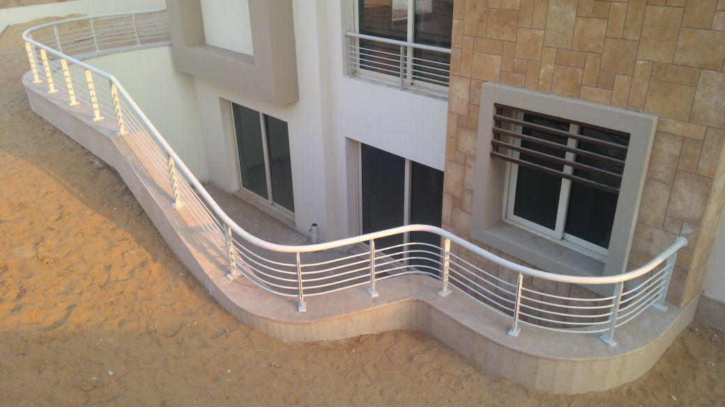 Steel Handrail at Oriana Project (8)