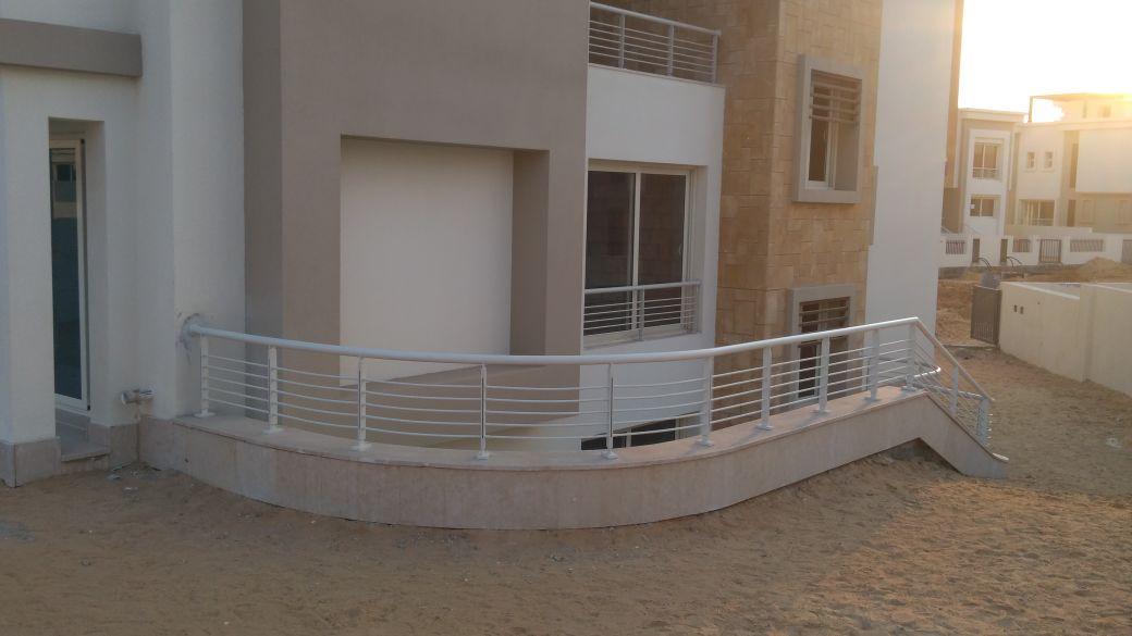 Steel Handrail at Oriana Project (10)