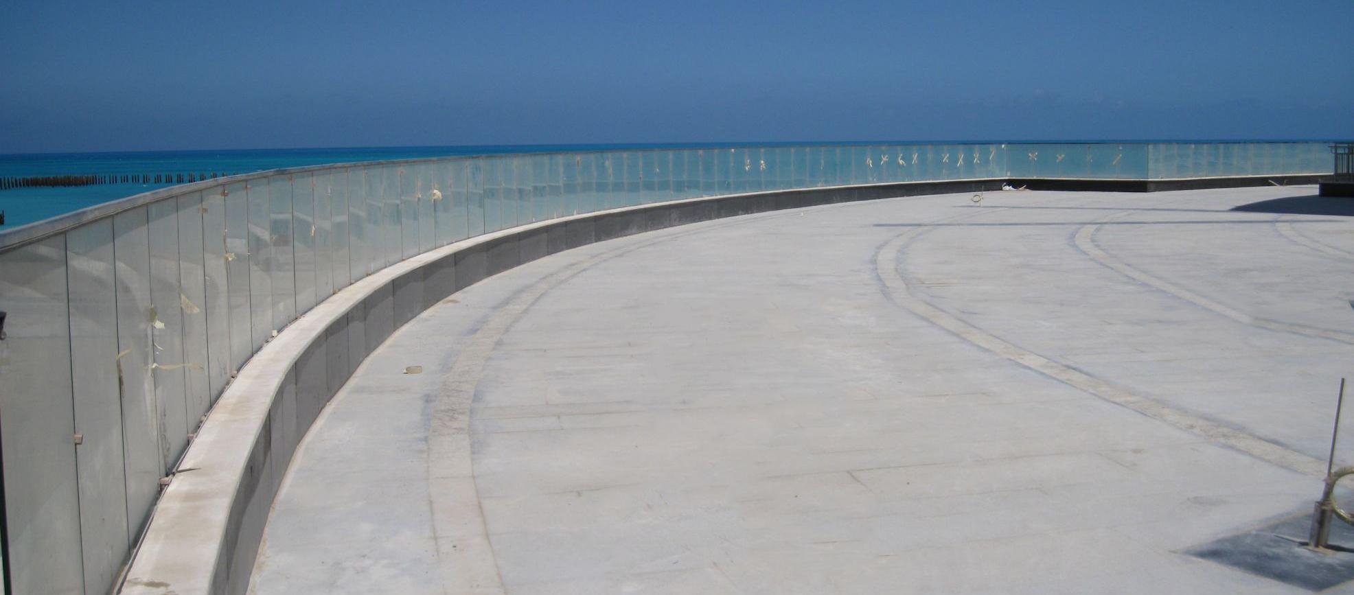Glazing Handrail